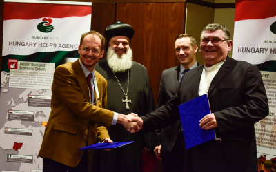 Framework Agreement of the Hungary Helps Agency and the Hungarian Kolping Association
