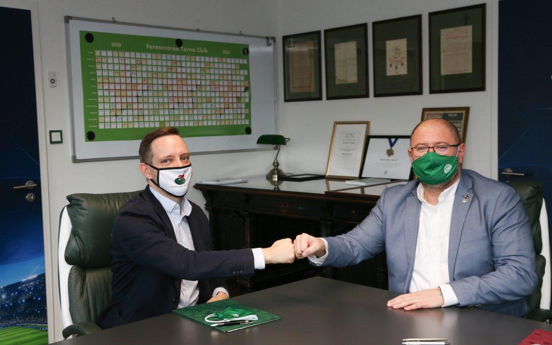 A Ferencvárosi Torna Club is csatlakozott a Hungary Helps Program küldetéséhez