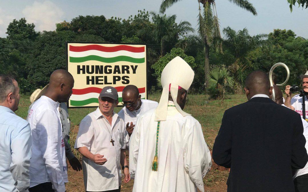 Magyar segítség Afrika szívében