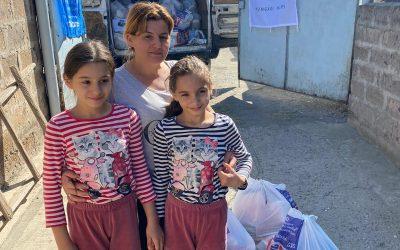 Gyorssegéllyel támogatta az örmény menekülteket a Hungary Helps Program
