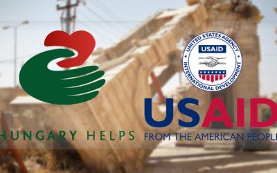 Magyar-amerikai együttműködés ösztönözte Irak legnagyobb keresztény városának újjáépítését